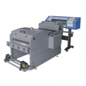 DTF Printer/DTF Film Printer/Double heads digital flatbed inkjet Printer DTF T-shirt Printing Machine