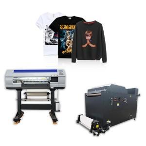 High quality inkjet heat transfer PET film printer DTF with Shake Powder Machine PET film printing machine