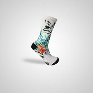 Ang bultuhang 3D sublimasyon na naka-print na mens na naka-print na bukung-bukong photo print medyas