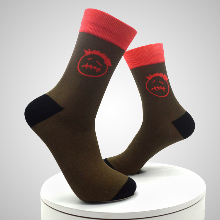 360 Degree 3d Women Socks Sublimation 3d printing short girls socks Featured Image