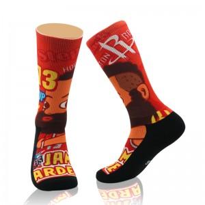 All Star Elite Custom Terry Sport Sock Men Women Athletic Wholesale Running Basketball Socks Funny Kids Athletic Crew Socks