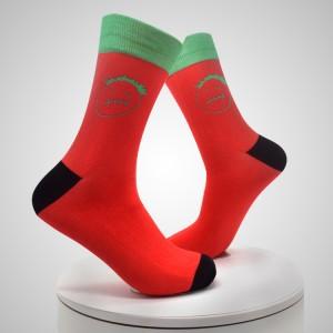 3D potištěné ponožky pro digitální tisk Spandex vlastní kotníkové ponožky