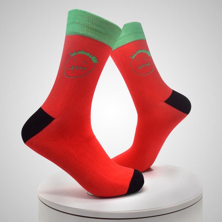 3d Printed Digital Printing Socks Spandex Custom Ankle Socks Featured Image