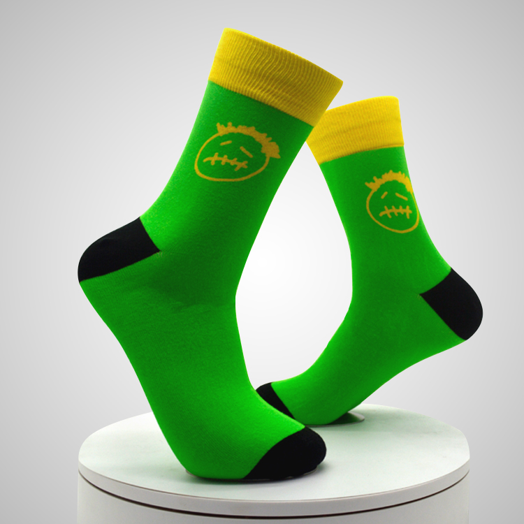 Sublimation Man And Woman Printing Socks Cheap Custom Printed Socks Featured Image