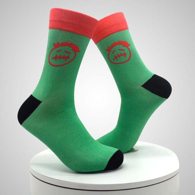 360 Degree Seamless Custom Wholesale Digital 3d Printing Socks Featured Image