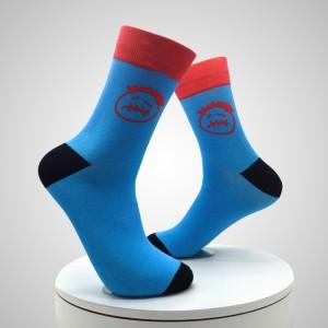 Tehas tarnib otse kohandatud logo sublimatsiooni meeste 3d trükitud sokke