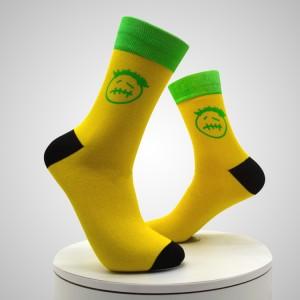Ucuz promosyon 3d baskılı Çorap Dijital 3d Baskı Çorapları