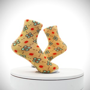 Wholesale 3D sublimation printed mens printed ankle photo print socks