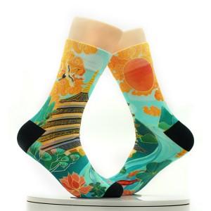 fashionable Rich colors National Tide Construction Socks