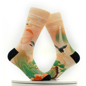 Rich colors National Tide Construction Socks