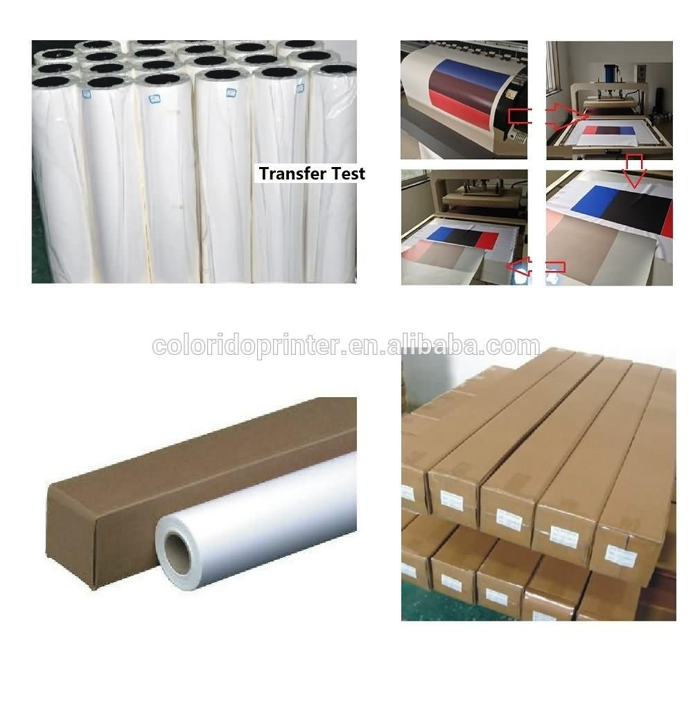 Big Discount 100g wide format heat transfer paper/ sublimation printing paper 24″,36″,44″,63″,64″ Export to Barbados