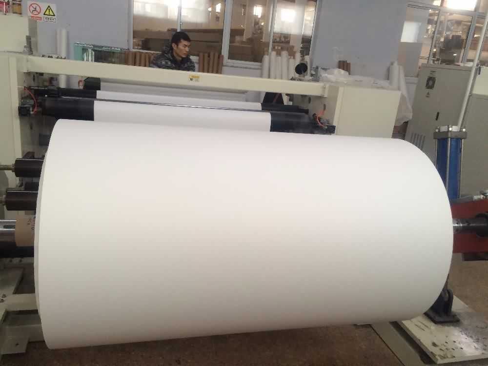 11 Years Manufacturer 100gsm 1300mm(51inch) 100m/roll sticky sublimation transfer paper for Casablanca Factory detail pictures