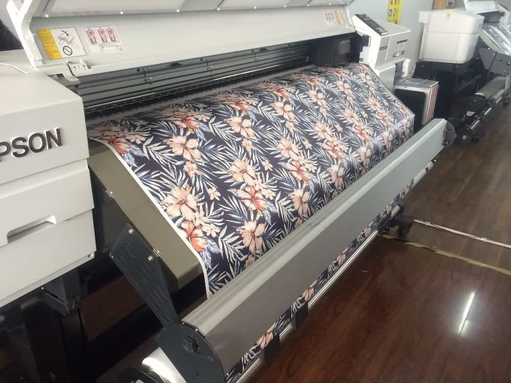 13 Years Factory wholesale 100gsm 24inch 100m per roll sticky sublimation transfer inkjet paper to America Importers