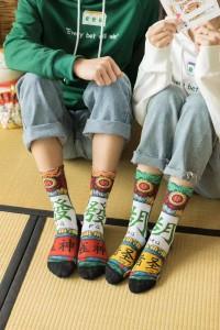 China Manufacturer Black Ankle Winter Cool Work Socks Men