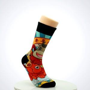 Funny Harajuku Calcetines Meias Jacquard Cute Cartoon Low Cut ODM princess Cotton school Kawaii funny Novelty Fashion ankle Sock
