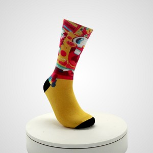 Fun Sushi Food funny Happy socks custom  cotton Socks