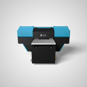 CE-certificering DX7 printerhoved Flatbed Uv-printer A3