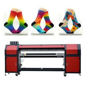 Top Sale Digital textile Nylon Sublimation Socks Printer,Clothes Printer 3D Machine