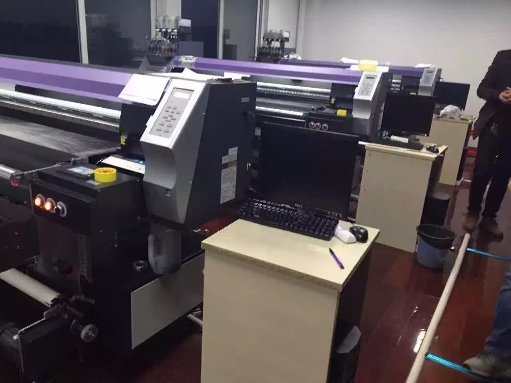 High quality factory 1600MM Digital DX5 Printer Belt Inkjet Textile Printer Wholesale to Washington