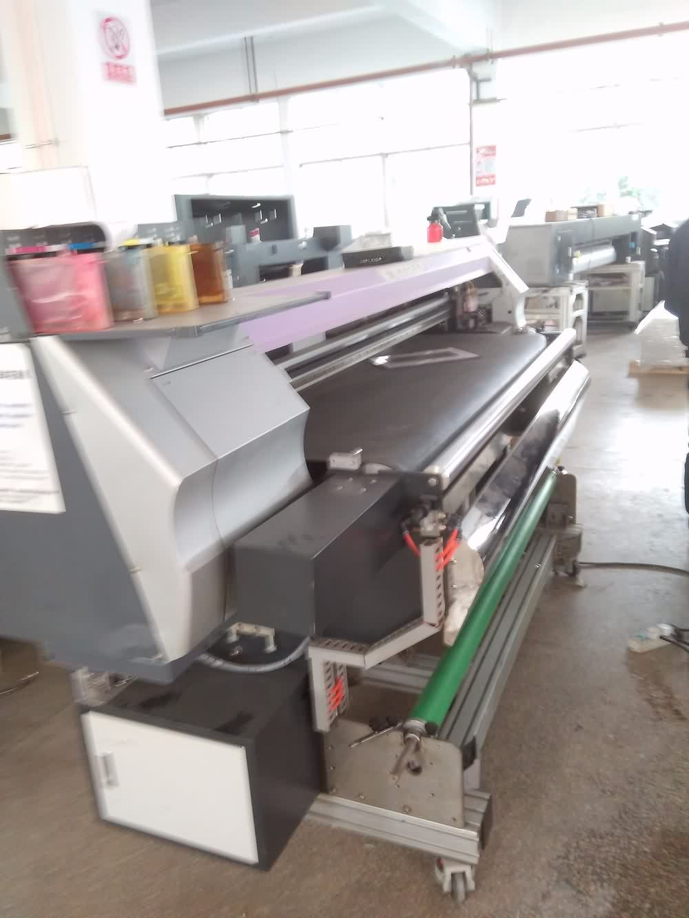 Renewable Design for 1600mm width Belt type digital textile printer with DX5 head to Egypt Factories