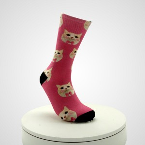 Funny food animal sock for men Bulk wholesale custom premium cotton socks