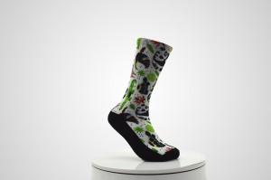 Custom sublimation printing socks custom digital 3d printed socks