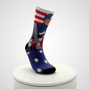 Wholesale Custom Home Fun Crazy Fashion Cotton Socks,Custom Logo Ankle Sublimated Crew Socks Men,Funny Custom Happy Men Socks