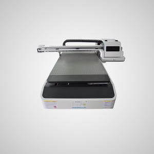 UV6090 grootformaat print flatbed led uv-printer
