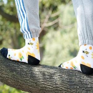 funny design cotton sock movie Stockings Master man sock cozy funy Casual crew custom logo women men socks
