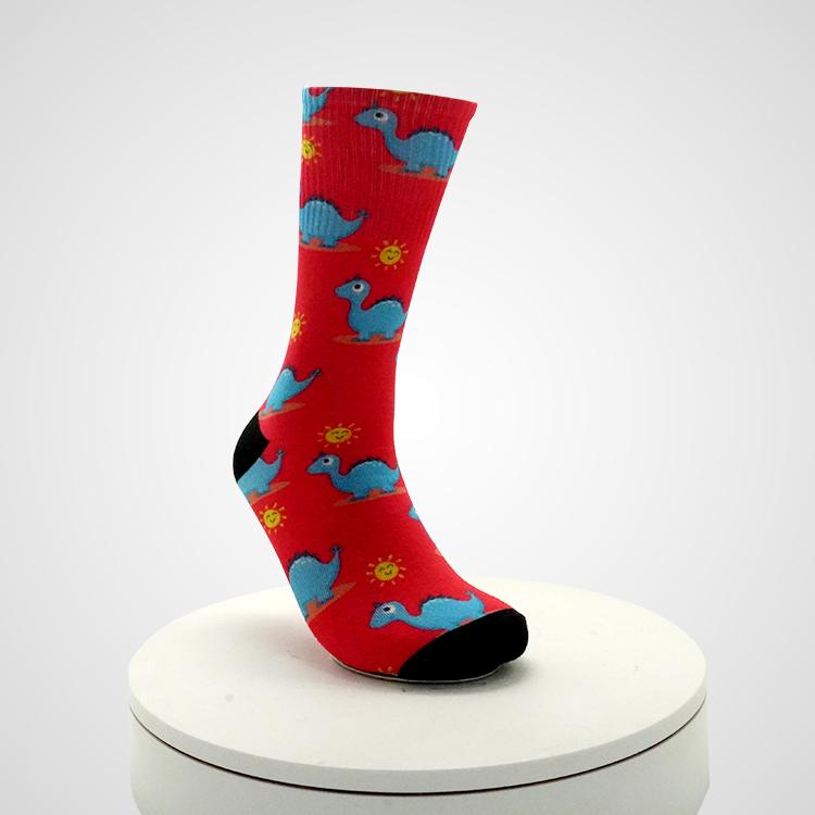 Winter Cotton Socks Men Street Hip Hop Tube Loose Tie Dye Sock for Unisex Featured Image