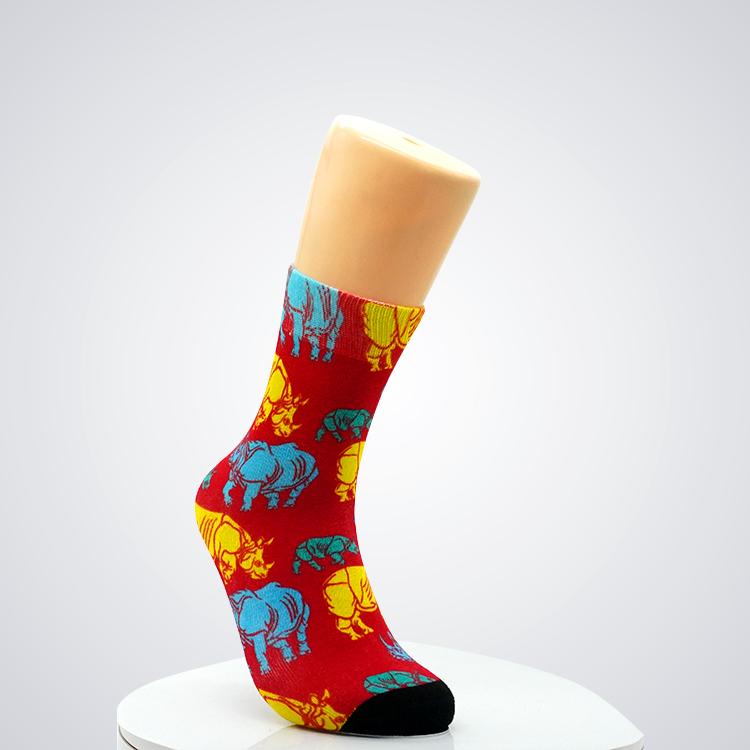 Men's socks fashion men's anime funny socks hip hop personality anime socks cartoon fashion skarpety high quality sewing pattern Featured Image