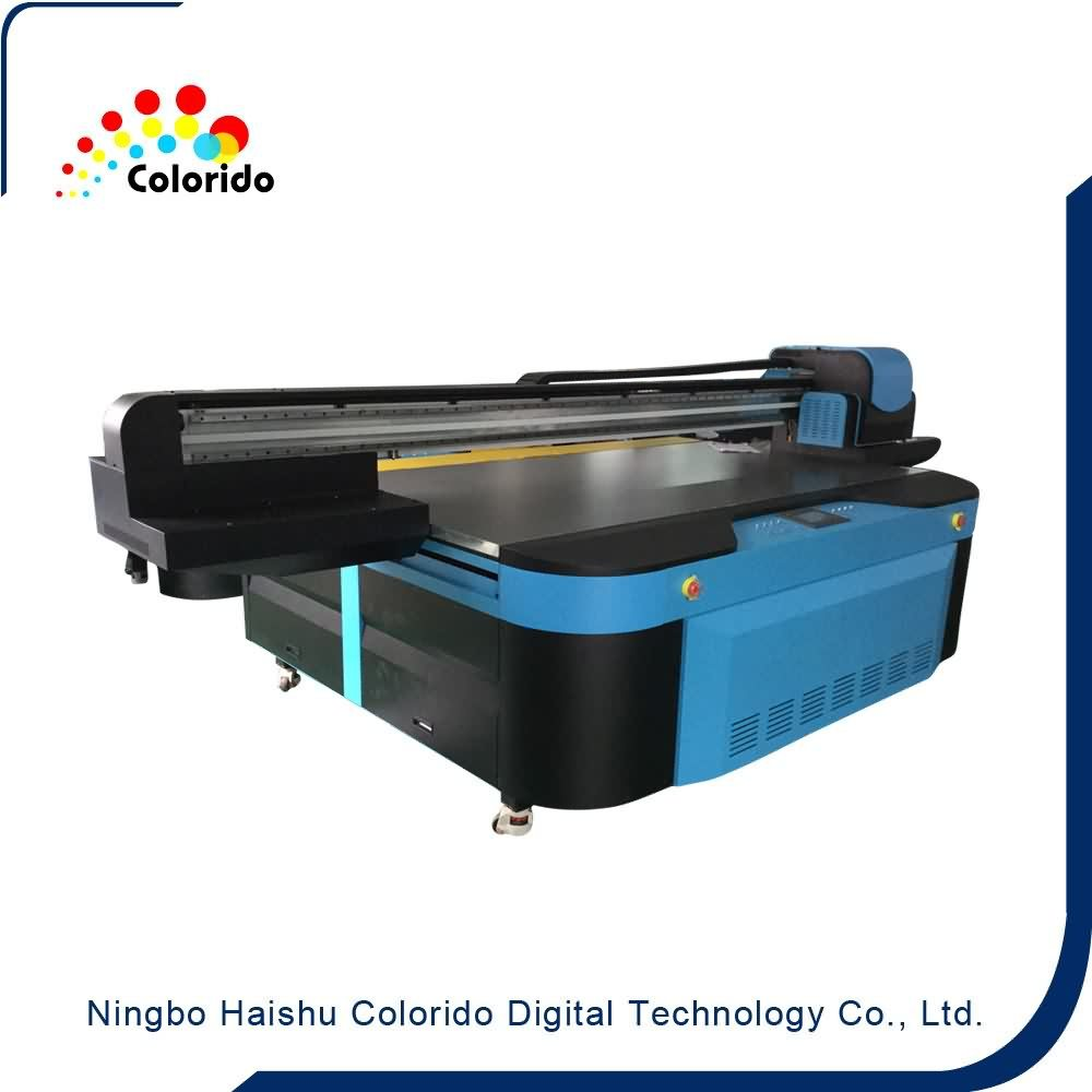 Hot sale Factory 2500MM width UV Flatbed Printer with imported UV lamps to Bhutan Factories