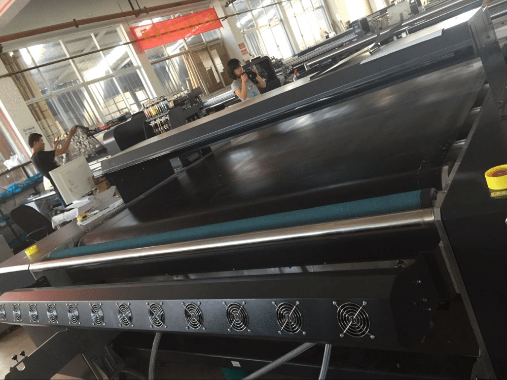 Factory Free sample 3.2m Industrial belt type digital textile fabric printer to Georgia Factories