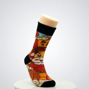 Funny cute Fruit food animal sock for women Bulk wholesale custom premium cotton socks women calcetines
