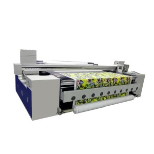 Digital Belt Textile Printer 1.8m Plotter Belt Digital Printing Machine