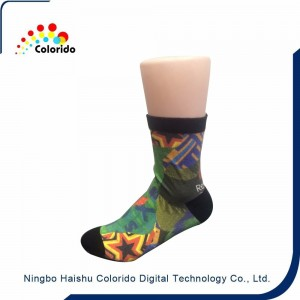 3D socks digital custom print socks,360 digital printer