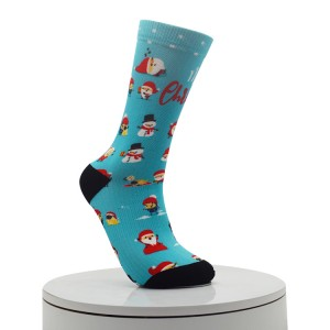 vegetation Digital Printed Socks