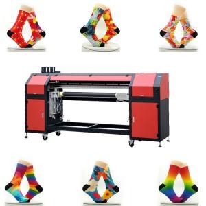 360 Seamless Printing Socks Machine Socks,Bras,Leggings Color Digital Socks Printer Digital Cylinder Printer