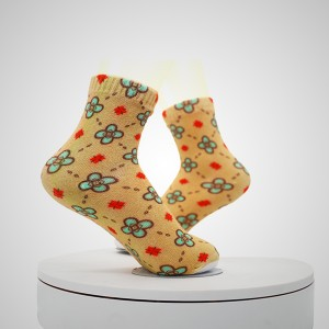 Multi Color Pattern Digital Printed Socks
