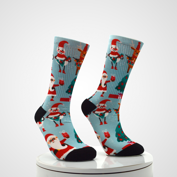 Custom sublimation printing socks for socks printing machine Featured Image