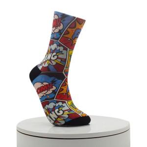 flamingo Digital Printed Socks