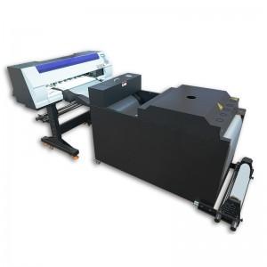 Digital T Shirt Textile Printing Machine Heat PET Film DTF Printer With Powder Shake Machine