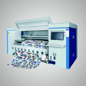 Belt Type Industrial Digital Textile Printer Direct Printing for Fabrics