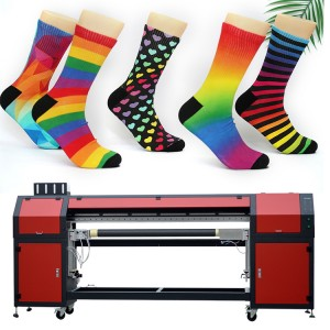 New Product Full Computerized Sublimation Socks&Short Printing Machine