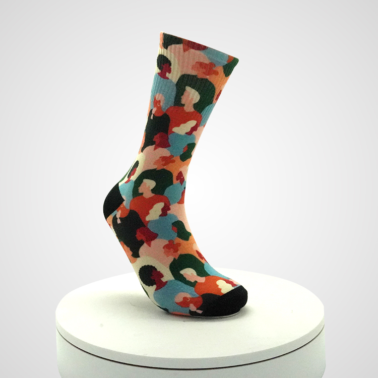 Yellow And Red Flowers Cute Socks For Girls, Hot Little Teen Girls Socks Featured Image
