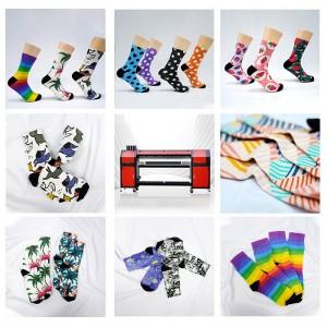 New Product Full Computerized Sublimation Socks&Short Printing Machine