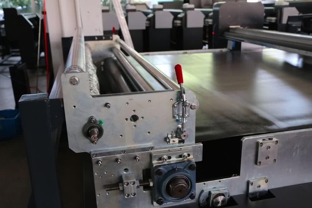 Automatic Belt Conveyor Textile fabric printer with customize belt