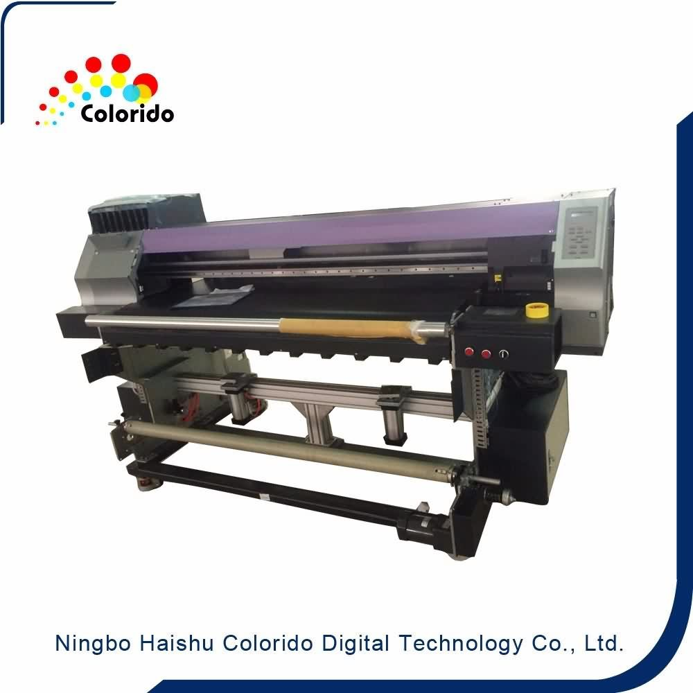 2017 Latest Design  Belt type Direct fabric printing Textile Printer with DX5 head to Greenland Factory