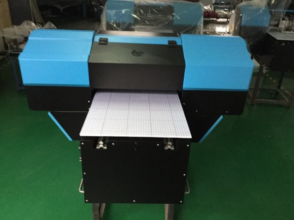 2017 wholesale price  BEST SALE A2 SIZE UV FLATBED PRINTER to America Factories