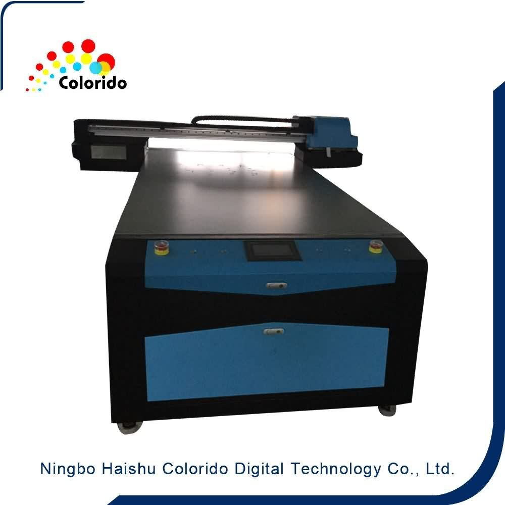 Factory directly supply CE Certificated UV FLATBED PRINTER,CO-UV1325 to Manila Factory